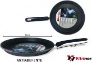 Vitrinor 089753 Crepier Acciaio Vetrificato cm 28 Rivestimento Pietra Induzione
