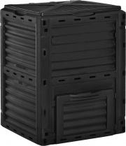 VivaGarden 491845 Bidone per compostaggio 300L Nero