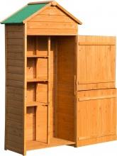 VivaGarden 845063 Casetta Box Porta Attrezzi Legno Da Giardino Ripostiglio