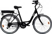 Vivo Bike M-VCITY26B Bicicletta Elettrica E-Bike Bici 250 W max 40 km Nero 26B Vivo City