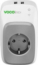 Vocolinc VCPM5 Presa smart PM5 con 2 porte USB