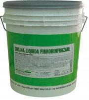 Vodichem Guaina_fibro20kg Guaina Liquida Impermeabilizzante Fibrorinforzata Grigio Secchio 20 Kg