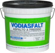 Vodichem Vodiasfalt10Kg Asfalto a Freddo diluibile in Acqua Impermeabilizzante 10 Kg Vodiasfalt