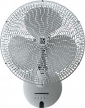 """Vortice 60641 Ventilatore Parete a Pale Telecomando Timer ø 40 cm Gordon W 4016"""" ET"""