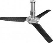 Vortice 61037 Ventilatore Soffitto Luce LED Telecomando 3 Pale Nordik Air Design 140-29