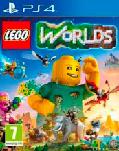 WARNER BROS 1000621752 LEGO Worlds. Videogioco PlayStation 4 PS4 ITA multiplayer