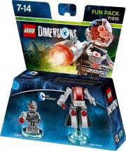 WARNER BROS Lego Dimensions Fun Pack DC Comics Cyborg 71210
