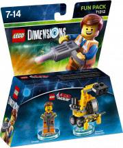 WARNER BROS Lego Dimensions Fun Pack Lego Movie Emmet 71212