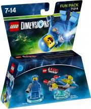 WARNER BROS Lego Dimensions Fun Pack Lego Movie Benny 71214