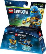 WARNER BROS Lego Dimensions Fun Pack Ninjago Jay 71215