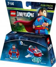 WARNER BROS Lego Dimensions Fun Pack DC Comics Superman 71236