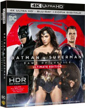 WARNER BROS BR 4K BATMAN V SUPERMAN Batman v Superman. Dawn of Justice, Film Blu Ray 4K Ultra HD