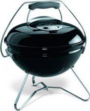 WEBER 1121004 Barbecue Carbonella Carbone Esterno BBQ Giardino 37cm BK Smokey Joe Premium