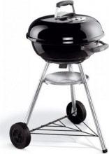 WEBER 1221004 Barbecue Carbonella Carbone da giardino BBQ Ø 47  Compact Kettle