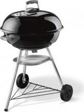 WEBER 1321004 Barbecue Carbonella Carbone da giardino BBQ Ø 57  Compact Kettle