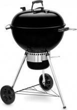 WEBER 14701053 Barbecue a Carbonella BBQ 57 cm Acciaio con Ruote Nero  E-5750