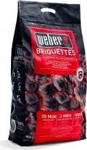 WEBER 17591 Confezione Bricchetti 8 kg legno