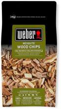 WEBER 17625 Legna da affumicatura per barbecue Confezione 0.7 Kg Mesquite