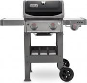 WEBER 44012129 Barbecue a Gas BBQ Gas 7.7kW Fornello Laterale Coperchio Spirit II E220GBS