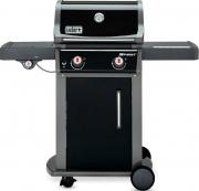 WEBER 46213629 Barbecue a Gas BBQ a GPL in Acciaio con Ruote Nero  Spirit E-220