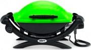 WEBER Barbecue Elettrico Giardino Griglie Ghisa Coperchio 2200W Q 1400