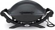 WEBER 55020053 Barbecue Elettrico BBQ da Esterno 2200 Watt Nero  Q 2400