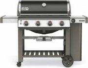 WEBER Barbecue a Gas da Esterno BBQ Griglie in Ghisa Nero Genesis II E-410 GBS