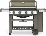 WEBER Barbecue a Gas da Esterno BBQ Griglie in Ghisa Grey Genesis II E-410 GBS