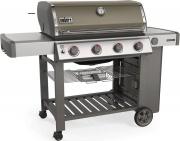 WEBER 62051129 Barbecue Gas GPL BBQ Esterno Giardino 86x48 cm Gray Genesisi II E-410 GBS