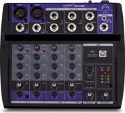 WHARFEDALE PRO 4401165 Mixer Audio 6 canali 20-20000 Hz Equalizzatore Connect 802 USB