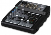 WHARFEDALE PRO 4401160 Mixer audio consolle per dj Jack 3.5mm6.35mm Connect 502 USB