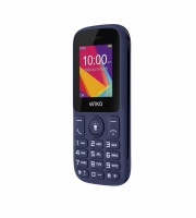"WIKO WIKF100WB188BLUST F100 Telefono Cellulare 1.8"" Bluetooth Radio MP3 Blu"