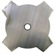 WINDSOR Lama Disco Decespugliatore Acciaio 4 Denti Ø mm. 225 - GRA4-2251424