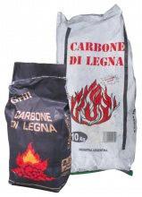 WTL Sacco Carbone Carbonella Vegetale Barbecue Giardino Esterno 10Kg
