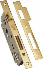 Wally Serratura Porta Legno da Infilare 24 mm Ent. 60 mm Dim. 89x174 262BFOBS
