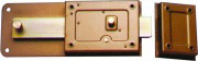 Wally Serratura Ferroglietto da Applicare Ent. 50 mm cilindro fisso 270BIS-A 50