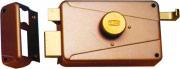 Wally 330MGB Serratura Porta Legno da Applicare Cilindro Est. Entrata 50 mm Sx