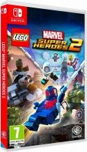 WARNER BROS 1000653349 Videogioco per Switch Lego Marvel Super Heroes 2 7+