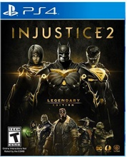 WARNER BROS 1000710608 Videogioco PS4 Injustice 2 Legendary Edition 16+