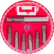 Wekador 66002010 Set inserti 2 intaglio 2 croce 2 pozidriv 1 Portainserti  BITBOX