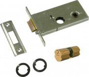 Welka 123.60.01.0 Serratura Porta Alluminio da Infilare Scatola 130x62 mm