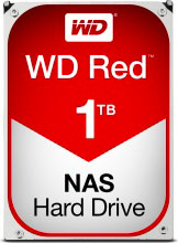 "Western Digital WD10EFRX Hard Disk NAS Interno HDD 3,5"" 1 Tb Serial ATA III  Red"