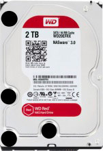 "Western Digital WD20EFRX Hard Disk NAS Interno HDD 3,5"" 2 Tb Serial ATA III  Red"
