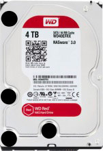 "Western Digital WD40EFRX Hard Disk NAS Interno 3,5"" 4 Tb Serial ATA III 5400 Gm"