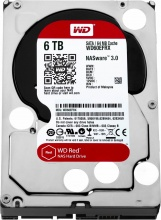 "Western Digital WD60EFRX Hard Disk NAS Interno 3,5"" 6 Tb Serial ATA III 5400 Gm"