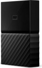 Western Digital WDBFKF0010BBK-WESE Hard disk esterno 1TB USB  My Passport for Mac