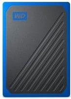 Western Digital WDBMCG0010BB Hard Disk Esterno 1TB USB 3.0 Nero  My Passport Go