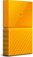 Western Digital WDBYNN0010BYL Hard Disk Esterno 1 Tb USB 3.0 Auto Backup Giallo My Passport