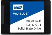"""Western Digital WDS200T2B0A SSD 2 Tb 2.5"""" Solid State Disk Sata III  WD BLUE 2TB"""