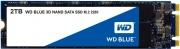 """Western Digital WDS200T2B0B SSD 2 Tb 2.5"""" Solid State Disk Sata III  WD BLUE 2TB"""